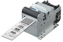 Thermal transfer label printer