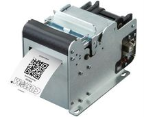 Thermal transfer printer / ticket / built-in / compact