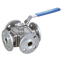 Ball valve / lever / flange / anti-static