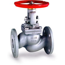 Globe valve / manually-controlled