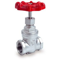 Gate valve / manual / threaded