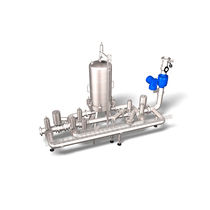 Cartridge filtration unit / gas / for water
