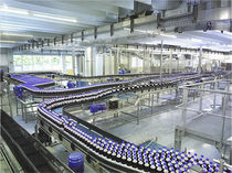 Modular belt conveyor / for cans / for bottles / transport