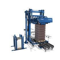 Layer depalletizer / for glass containers / fully-automatic / motor-driven