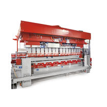 High-speed case packer-unpacker / automatic / for bottles / cylinder