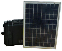 Polycrystalline silicon solar panel / wall-mount / IP65 / rugged