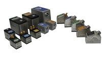 Wedge ultrasonic transducer / direct-contact / angle beam / shear wave