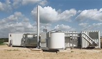 Sewage gas combined heat and power (CHP) plant