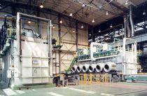 Heat treatment furnace / chamber / gas-fired / multi-gas