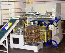 Layer palletizer / bag / high-capacity / automatic
