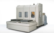 4-axis machining center / horizontal / with rotary indexing table / rigid