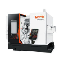 CNC turning center / 3-axis / double-spindle / double-turret