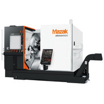 CNC turning center / double-turret / high-productivity / compact