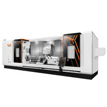 CNC milling-turning center / horizontal / 5-axis / double-spindle