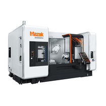 CNC milling-turning center / 5-axis / double-turret / high-productivity