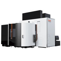 CNC milling-turning center / universal / 5-axis / ram
