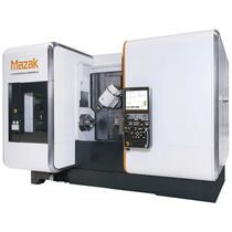 CNC milling-turning center / horizontal / 4-axis / double-spindle