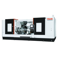CNC turning center / 2-axis / inclined bed / milling machine