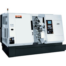 CNC turning center / 4-axis / double-turret / high-productivity