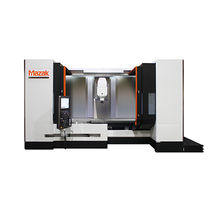 5-axis machining center / vertical / traveling-column