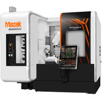 CNC milling-turning center / horizontal / 4-axis / high-precision