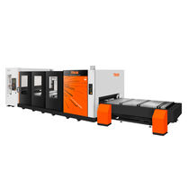 Aluminum cutting machine / stainless steel / fiber laser / CNC