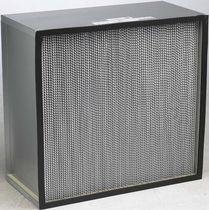 Air filter / panel / high-capacity / high-efficiency