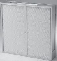 Air filter / panel / ceiling-mounted / weld