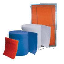 Polyester filter medium / air / roll