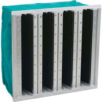 Gas filter / air / activated carbon / high-capacity