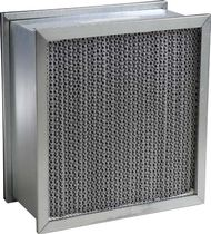 Air filter / panel / for gas turbines / heavy-duty