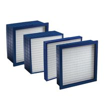 Air filter / panel / high-performance / pleated