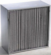 Air filter / panel / pleated / separation
