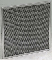 Air filter / panel / pleated / flat