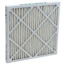 Air filter / panel / pleated / polyester
