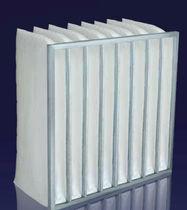 Air filter / bag / high-efficiency / rugged