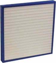 Air filter / panel / disposable / high-efficiency