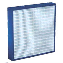 Air filter / panel / high-capacity / high-efficiency