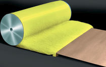 Fiberglass filter medium / synthetic composite / air / roll