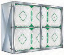 Membrane filter box / for gas / aluminum