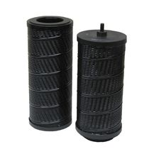 Liquid filter cartridge / water / ultra-filtration / metal