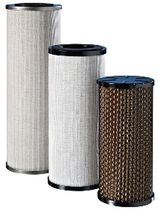 Liquid filter cartridge / water / fine / metal