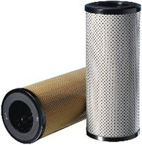 Liquid filter cartridge / fine / paper / pleated