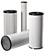 Liquid filter cartridge / fine / synthetic