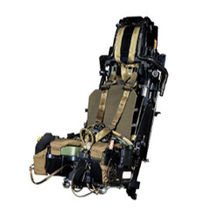 Fighter pilot training system G-seat