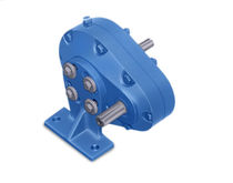 Helical gear reducer / parallel-shaft / industrial