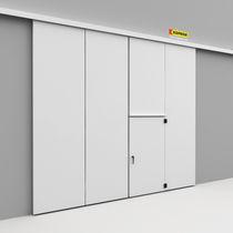 Folding doors / metal / industrial / exterior