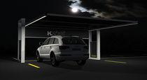 Parking lot shelter