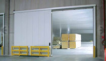 Swing doors / sliding / fireproof / with emergency exit function