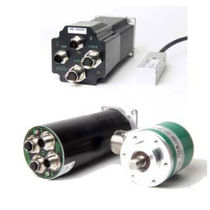 Absolute rotary encoder / magnetic / solid-shaft / multi-turn